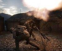El Capitan. Jeremy Foley, de Bloomington, Illinois, izquierda, y William Tobin de Pendleton, Oregon. Dos soldados del Batallón de la 2 ª, 12 º Regimiento de Infantería, 4 ª Brigada de Combate de la 4 ª división de infantería. Utilizan morteros de fuego en el Valle de Pech de la provincia afgana de Kunar. (Foto: AP)