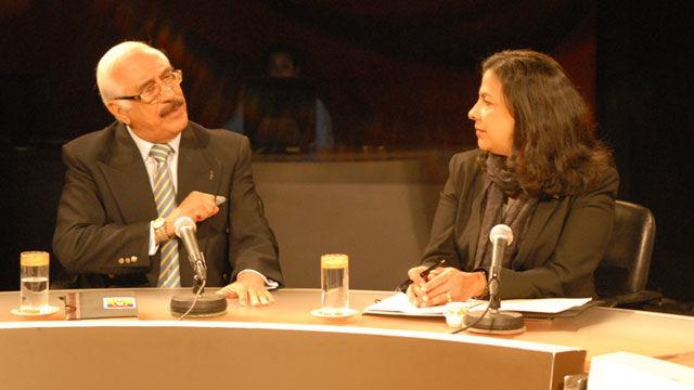 Universi Zambrano, Embajador saliente de Ecuador en Cuba, y la canciller constitucional de Honduras, Patricia Rodas.