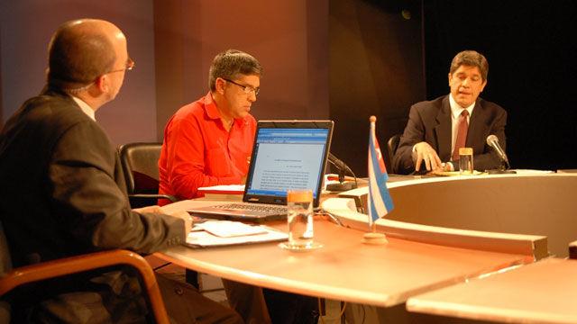 Carlos Fernández de Cossío, subdirector de la Dirección de Asuntos Multilaterales del Ministerio de Relaciones Exteriores (MINREX), señaló el protagonismo de la ínsula caribeña.
