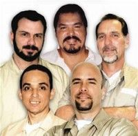 Gerardo Hernández, René González, Antonio Guerrero, Fernando González y Ramón Labañino