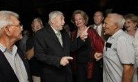 Luis Posada Carriles, libre en Miami, asiste a un homenaje que le tributan grupos extremistas de esa ciudad el 2 de mayo de 2008. (Foto: Donna E. Natale Planas / Miami Herald)