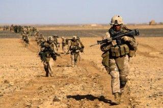 Soldados de la OTAN en Afgnistán. Foto AP