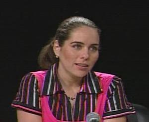 Irma González, hija mayor de René, narró experiencias durante su reciente estancia en Sudáfrica, invitada por la Liga Juvenil del Congreso Nacional Africano.