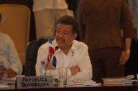 Leonel Fernández, Presidente de la República Dominicana durante la Cumbre de la Unidad. Foto cortesía de la Presidencia de República Dominicana
