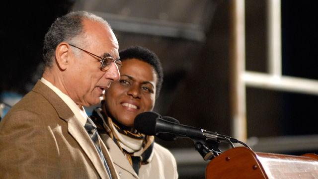 Zuleika Romay, presidenta del Instituto Cubano del Libro y Rafael Bernal, viceministro primero de Cultura dejan oficialmente inaugurada la XIX Feria Internacional del Libro Cuba 2010