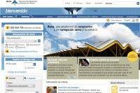 Página web de AENA (Aeropuertos Españoles y Navegación Aérea)