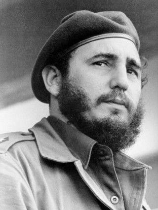 Fidel Castro. Foto Liborio Noval