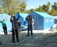 Hospital cubano en Haití. Foto de Archivo. AIN Foto