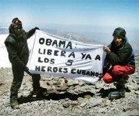 Cinco a los jóvenes argentinos que subieron el Aconcagua