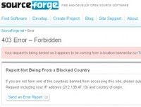 No solo contra Cuba: SourceForge.net está prohibido a países, empresas e individuos en lista negra del gobierno de EEUU