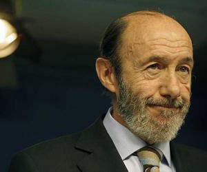 Ministro español del Interior, Alfredo Pérez Rubalcaba