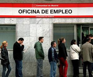 Aumento del desemplo en España