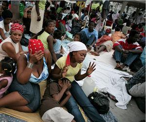 Haití Casi un millón de personas en refugios