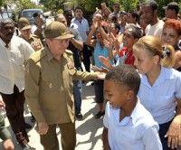 Intensa jornada de Raúl en Guantánamo