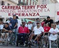 Masiva concurrencia de andarines en Carrera Terry Fox