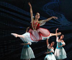 Viengsay Valdés primera bailarina del Ballet Nacional de Cuba.  Foto archivo