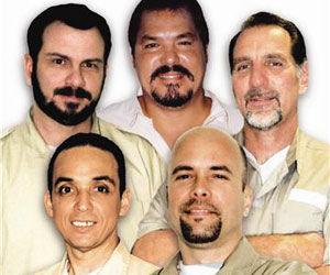 Cinco Héroes cubanos presos en EE.UU