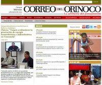 Página web Correo del Orinoco