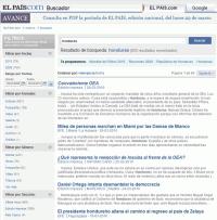 """En el diario El País buscas la palabra """"Honduras"""" y salen las """"Damas de blanco"""""""