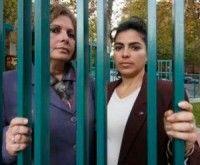 Olga Salanueva y Adriana Pérez, esposas de René González y Gerardo Hernández, dos de los Cinco Héroes cubanos injustamente prisioneros en los Estados Unidos