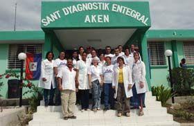 Hospital Comunitario de Referencia de Aken, Haití. Foto Juvenal Balán