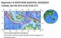 Terremoto de 7.8 sacude Indonesia y alertan sobre un posible tsunami