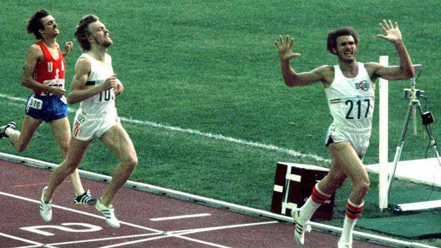 Alberto Juantorena, campeón olímpico  y mundial en 400 y 800m.