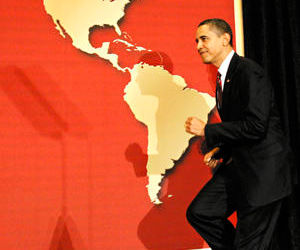 gira bush america latina: