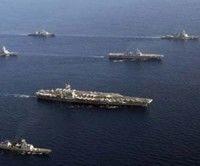 La sexta flota de los Estados Unidos (EE.UU) ha elegido la isla griega como base para una posible operación militar en Libia