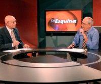 El periodista Reinaldo Taladrid y el Dr. Néstor García Iturbe. Foto René García