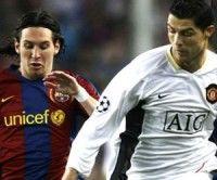 Lionel Messy y Cristiano Ronaldo