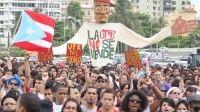 Los estudiantes universitarios que luchan en Puerto Rico contra el alza de 800 dólares de la matrícula, iniciaron este miércoles otra jornada de protestas que durará un mes.
