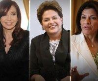 Cristina Kirchner, Presidenta Argentina; Dilma Rousseff, Presidenta de Brasil y Laura Chinchilla, Presidenta de Costa Rica