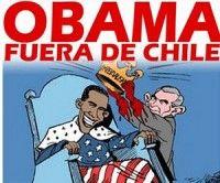 Protestas en Chile por la visita de Obama
