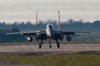 Aviones británicos utilizados en Libia. Foto EFE