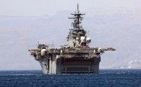 Un buque de guerra estadounidense se acerca a Libia