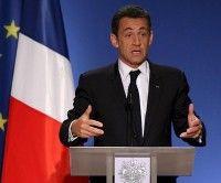 Presidente francés Nicolás Sarkozy
