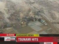 Terremoto y tsunami en Japón. Foto Reuters
