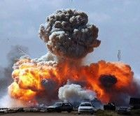 Bombardeos contra Libia