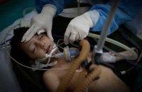 Un niño entre las primeras víctimas de la agresión de EE.UU. y sus aliados en Libia Foto: AP