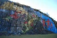 Mural de la prehistoria, Viñales