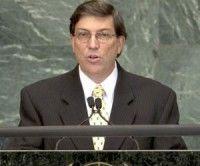 Canciller cubano, Bruno Rodríguez Parrila, en Naciones Unidas