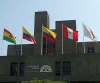 banderas Comunidad Andina