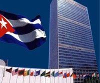 Cuba en Naciones Unidas