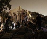 Destrucción de infraestructura en Libia. Foto AFP