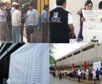Elecciones en Peru. Foto RPP