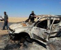 La aviación de la OTAN continua bombardeando Libia. Foto Reuters
