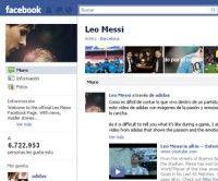 Página en Facebook de Lionel Messi