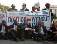 Protesta de Funcionarios norteamericanos. Foto Lydia DePillis