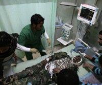Que las imágenes de la guerra hablen por sí mismas. Foto AFP